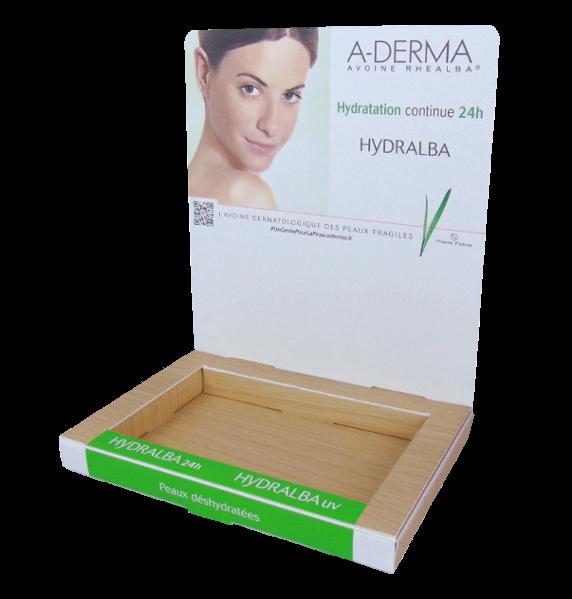 présentoir A-derma