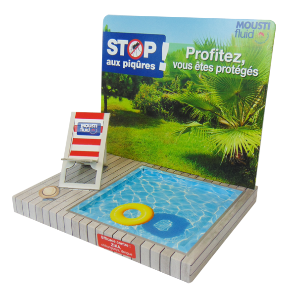 Comptoir piscine